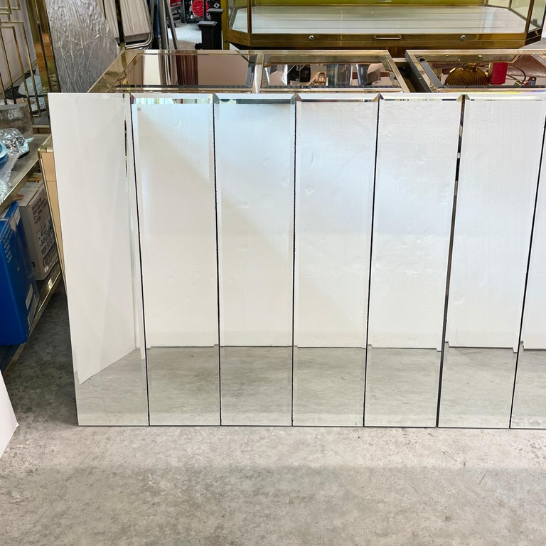 Pair of Ello Beveled Wall Mirrors For Sale 12