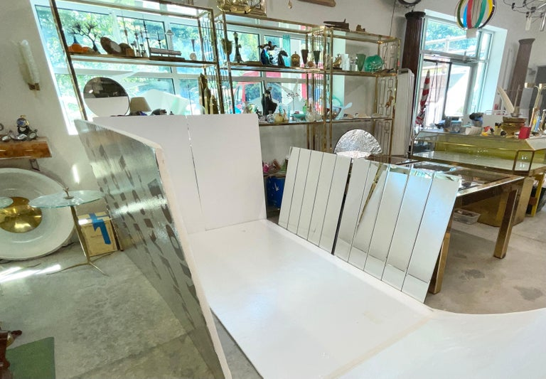 Pair of Ello Beveled Wall Mirrors For Sale 2