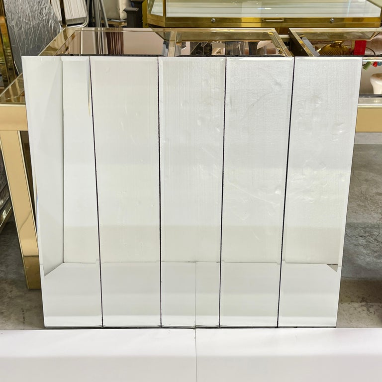 Pair of Ello Beveled Wall Mirrors For Sale 3