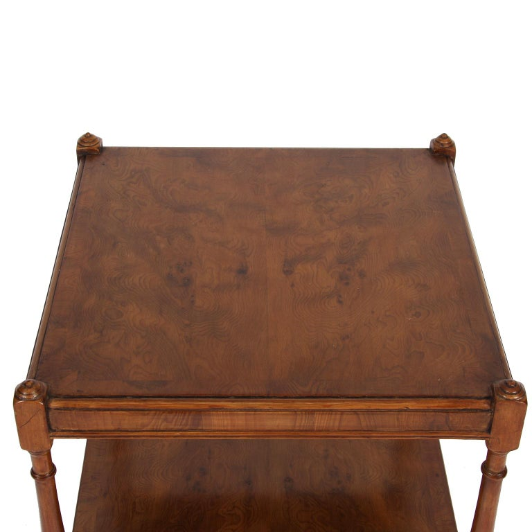Early 20th Century Pair of Elm Bedside Tables
