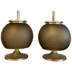 "Pair of Emma Gismondi For Artemide ""Chi"" Table Lamps"