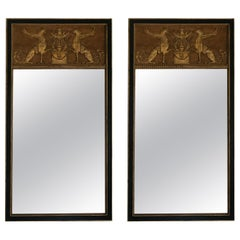 Pair of Empire Neoclassical Mirrors