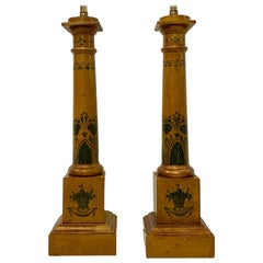 Pair of Empire-Style French Lamps