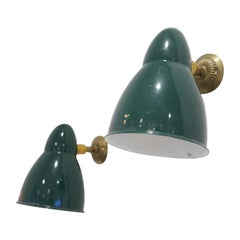 Pair of Enamel Wall Lights by Sammode