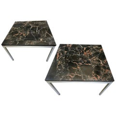 Pair of End Tables by Florence Knoll
