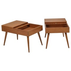 Pair of End Tables by John Keal for Brown Saltman of California