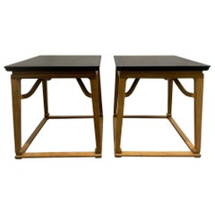 Pair of End Tables by Michael Taylor for Baker