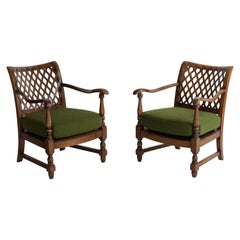 Pair of English Armchairs, circa 1950