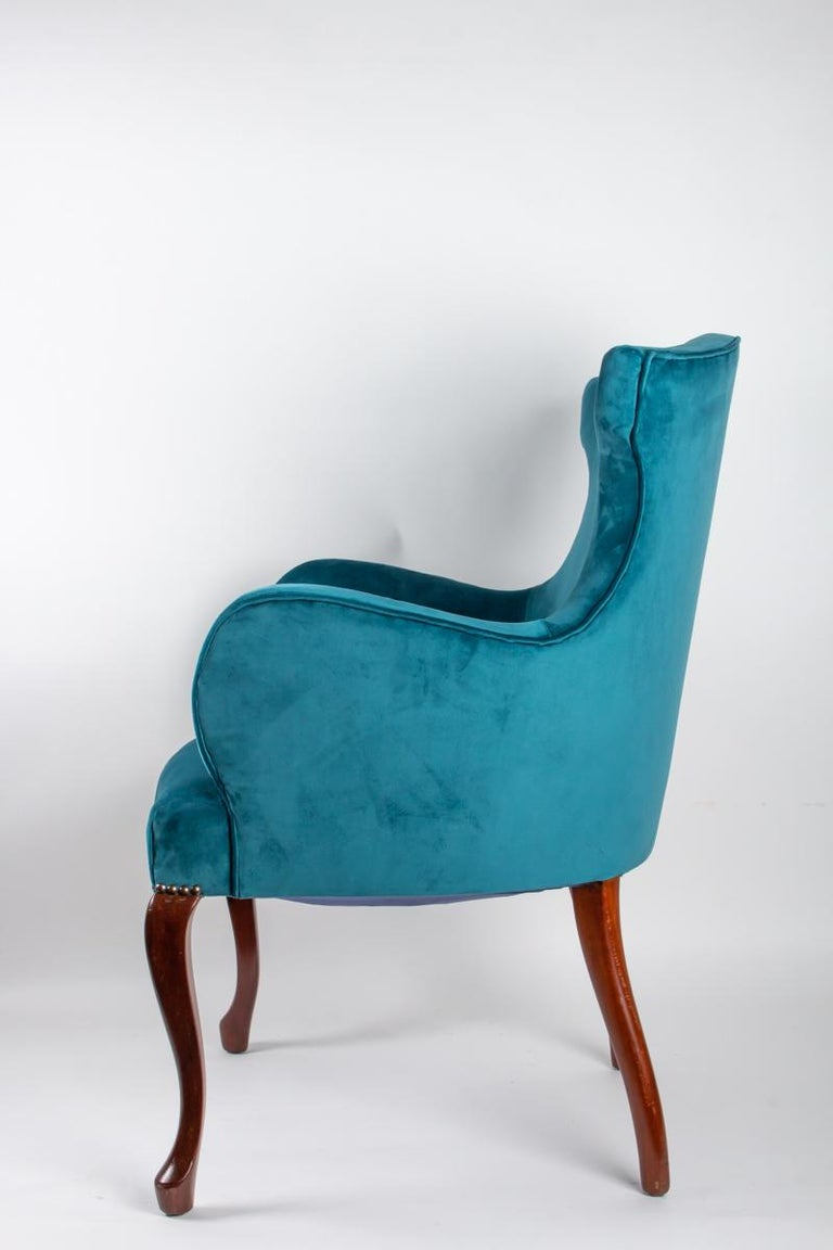 Pair of English Armchairs from the Beginning of the 20th Century For Sale 5