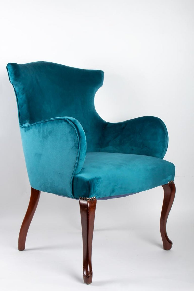 Pair of English Armchairs from the Beginning of the 20th Century For Sale 2
