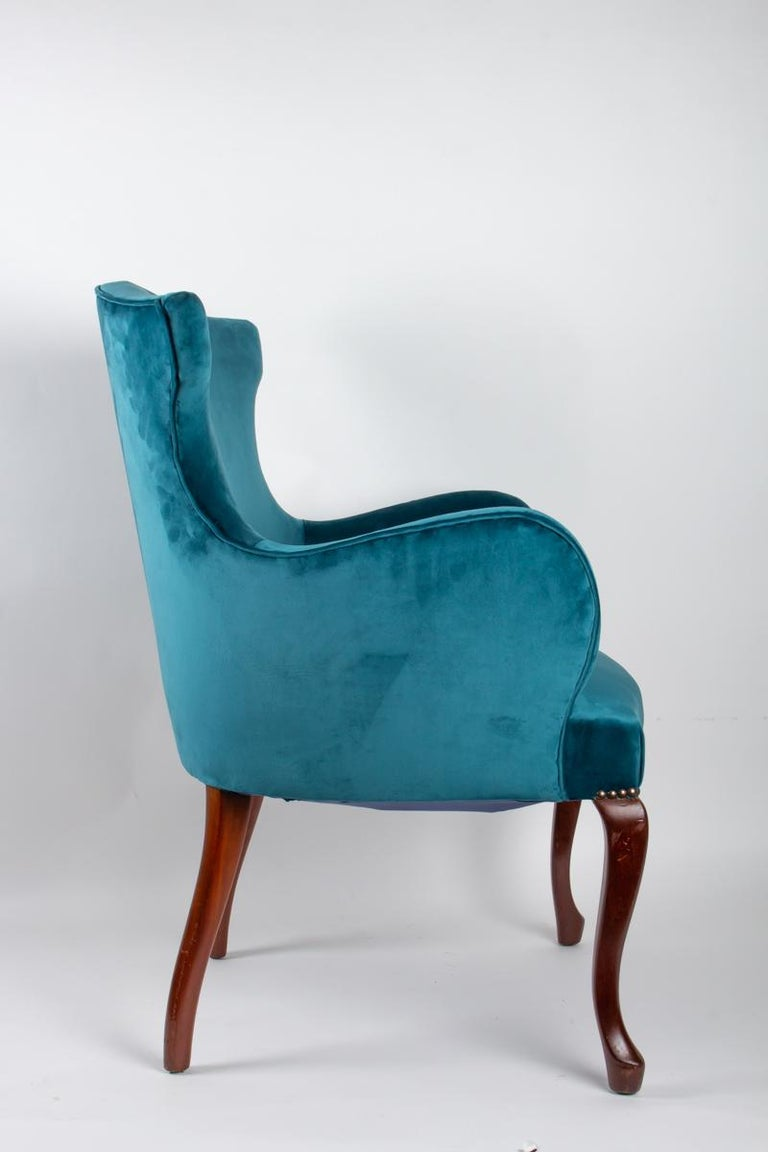 Pair of English Armchairs from the Beginning of the 20th Century For Sale 3
