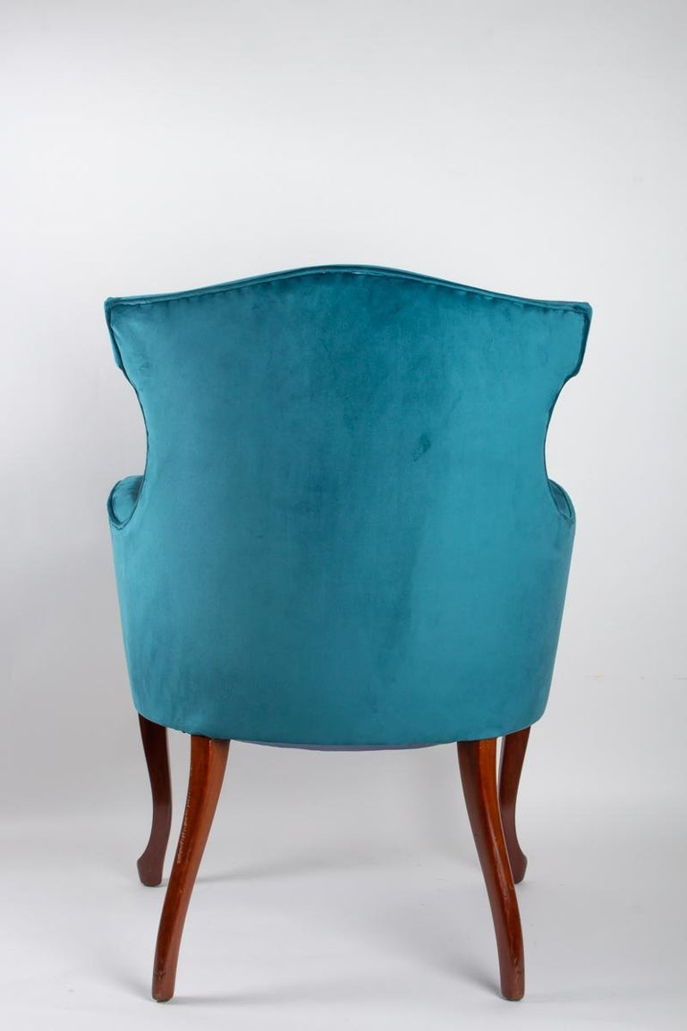 Pair of English Armchairs from the Beginning of the 20th Century For Sale 4