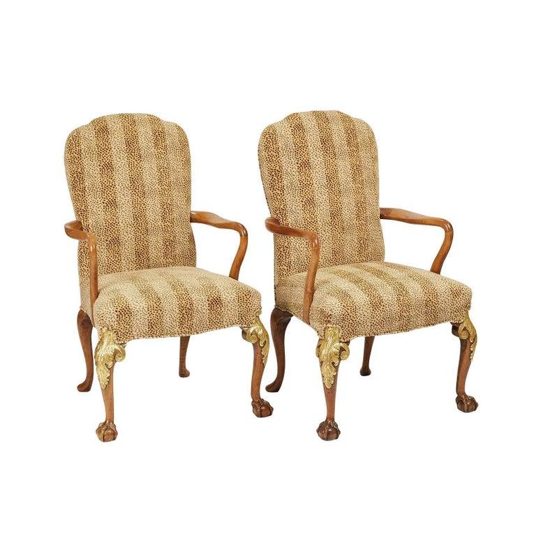 Pair of English Armchairs, circa 1890