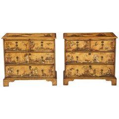 Pair of English Chinoiserie Chests