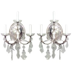 Pair of English Georgian Style Wall Sconces