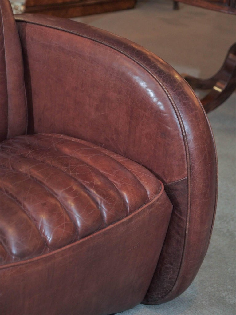 20th Century Pair of English Leather