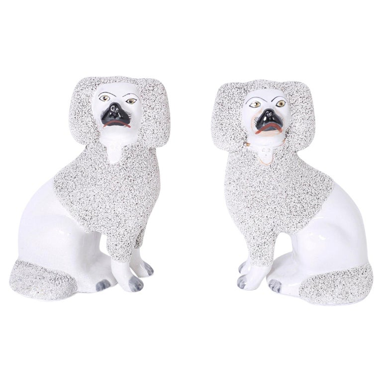 Pair of English Poodles or Dogs For Sale