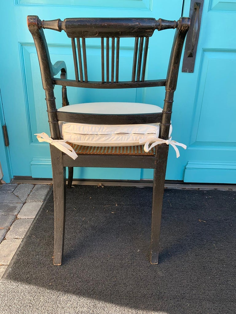 Pair of English Regency Armchairs, circa 1815-1830 For Sale 8