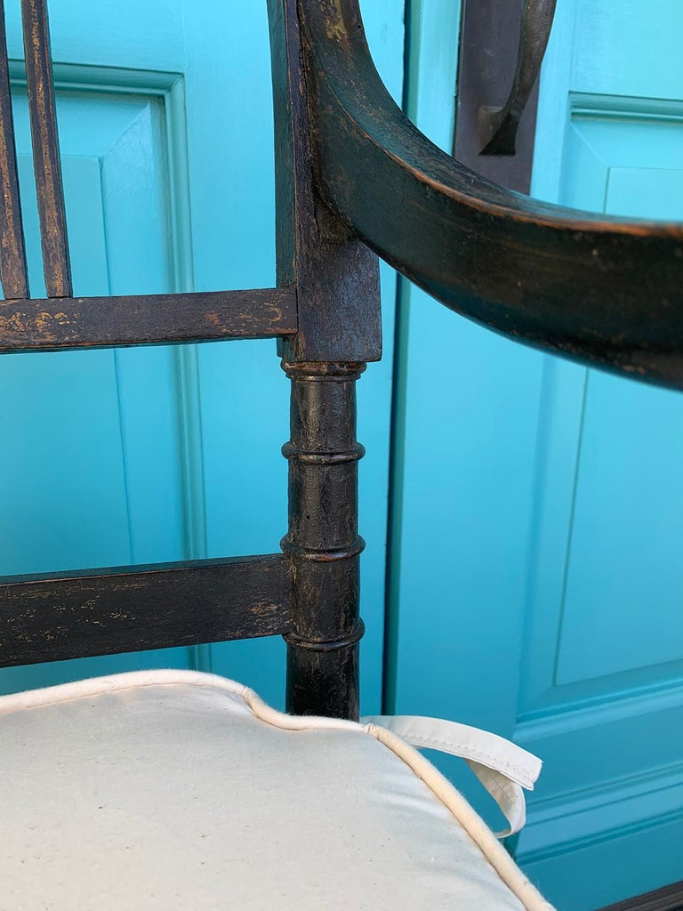 Pair of English Regency Armchairs, circa 1815-1830 For Sale 9