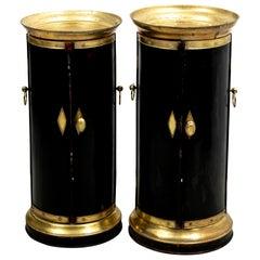 Pair of English Regency Plate Warmers