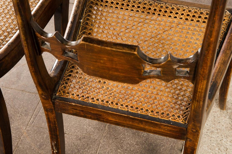 Early 19th Century Pair of English Regency Side Chairs For Sale