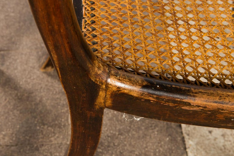 Pair of English Regency Side Chairs For Sale 1