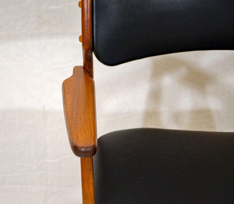 Pair of Erik Buck (Buch) Arm Chairs, Office Chairs 4