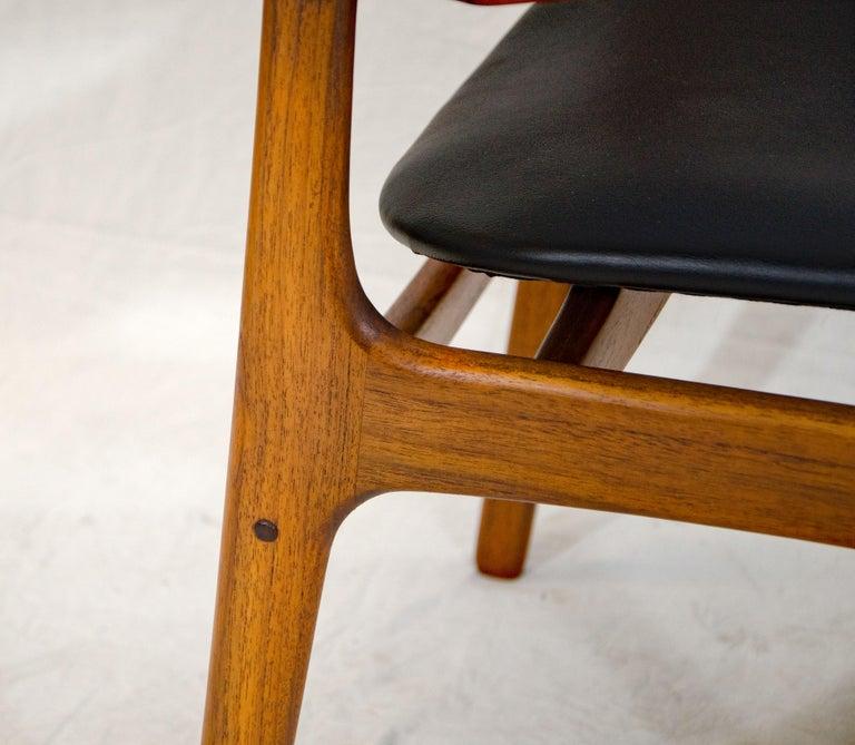 Pair of Erik Buck (Buch) Arm Chairs, Office Chairs 1