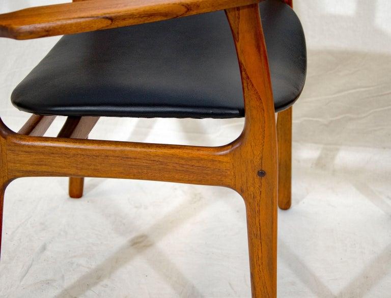 Pair of Erik Buck (Buch) Arm Chairs, Office Chairs 2