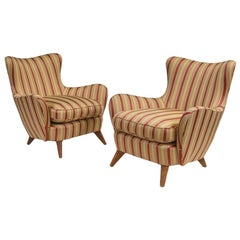 Pair of Ernst Schwadron Lounge Chairs