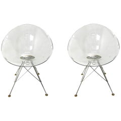 """Pair of """"Eros"""" Chairs by Philippe Stark"""
