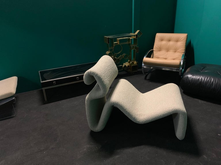 Pair of Etcetera Lounge Armchair by Jan Ekselius, Sweden, 1970s For Sale 4