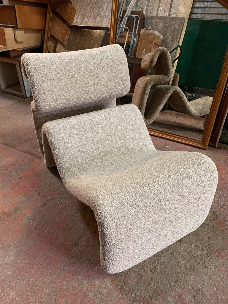 Late 20th Century Pair of Etcetera Lounge Armchair by Jan Ekselius, Sweden, 1970s For Sale