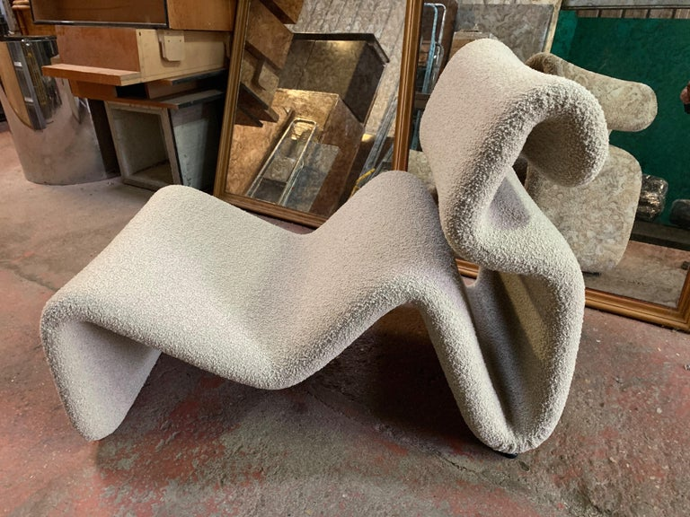 Metal Pair of Etcetera Lounge Armchair by Jan Ekselius, Sweden, 1970s For Sale