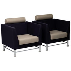 Pair of Ettore Sottsass East Side Arm Chairs