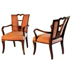 Pair of Eugene Schoen Armchairs by Schmieg Hungate and Kotzian c.1929