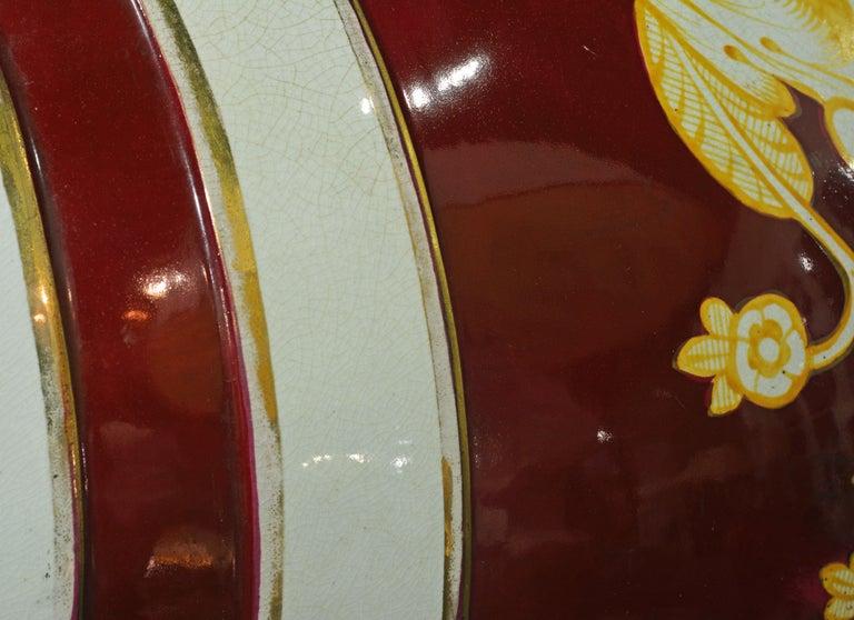 Pair of Eye-Catching 19th Century English Glazed Ceramic Liquor Barrels For Sale 7