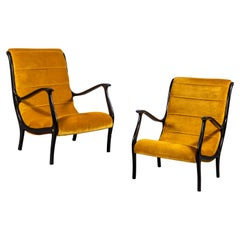 Pair of Ezio Longhi Lounge Chairs, circa 1960s
