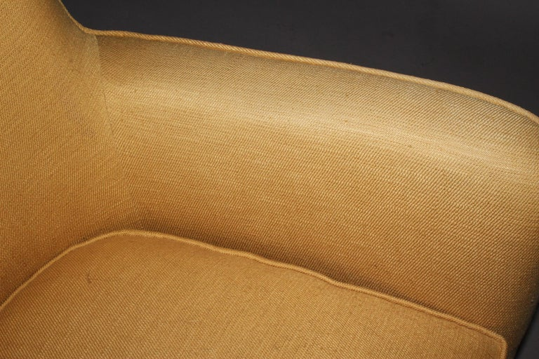 Pair of Fabric Armchairs For Sale 4