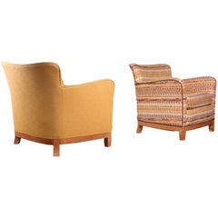 Pair of Fabric Armchairs