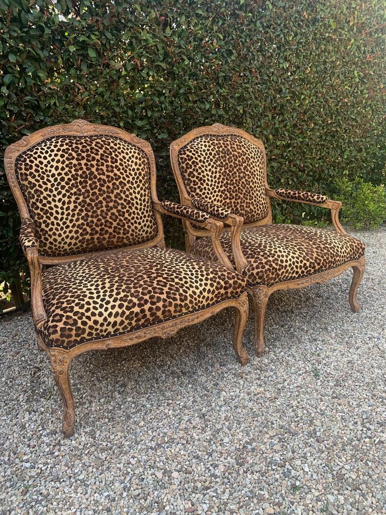 Pair of Fauteuils a La Reine For Sale 3