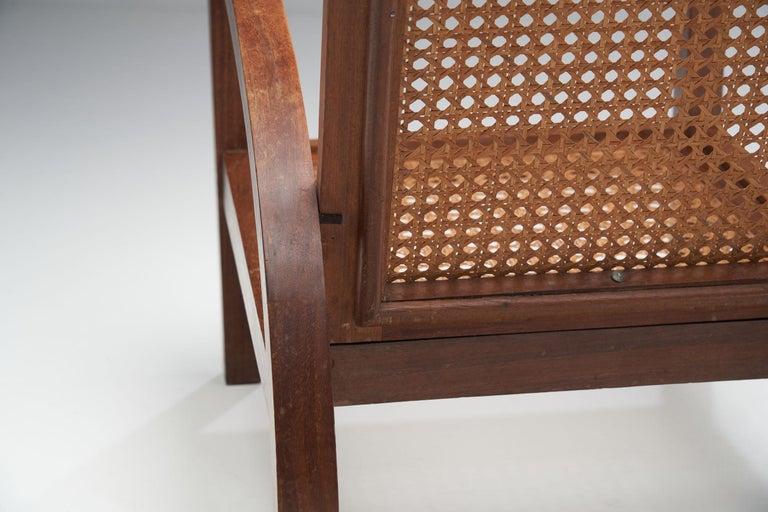 """Pair of """"Fauteuils de Paquebot"""" Chairs, France, 1950s For Sale 4"""