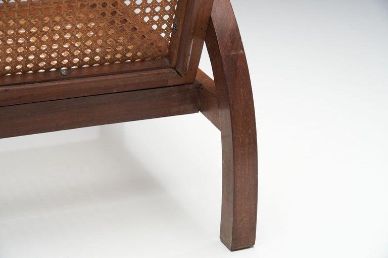"""Pair of """"Fauteuils de Paquebot"""" Chairs, France, 1950s For Sale 12"""