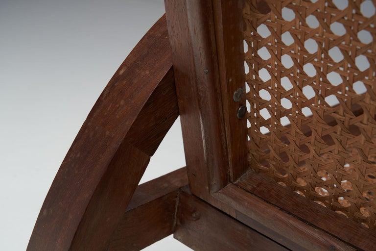 """Pair of """"Fauteuils de Paquebot"""" Chairs, France, 1950s For Sale 2"""