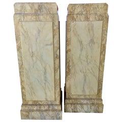 Neoclassical Pedestals and Columns