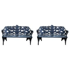 Pair of Fern Benches