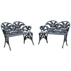 Pair of Fern Settees