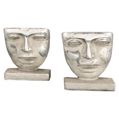 Pair of Figural Custom Bookends