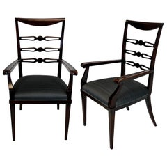 Pair of Fine Armchairs by Paolo Buffa