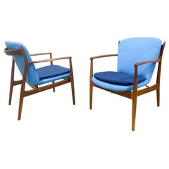 Pair of Finn Juhl Delegate Chairs by Baker Furniture